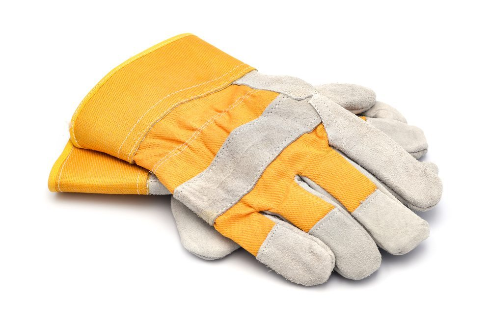 Arbeitshandschuhe – für ein glückliches Händchen. (Bild: Florin Burlan / Shutterstock.com)