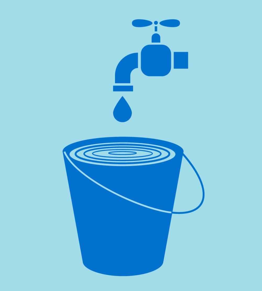 Nur mit gutem Willen und Wasser allein lässt sich schwerlich saubermachen. (Bild: nie / Shutterstock.com)