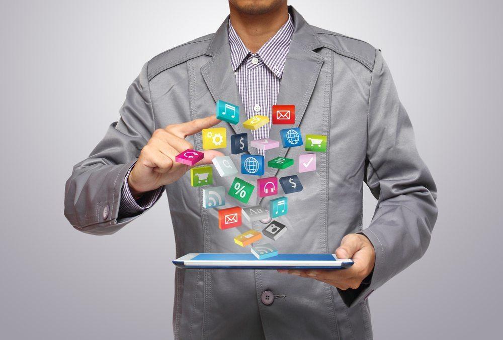 Apps helfen Unternehmen, ihre Kunden besser zu erreichen, und sorgen so für Kundenzuwachs. (Bild: My Life Graphic / Shutterstock.com)