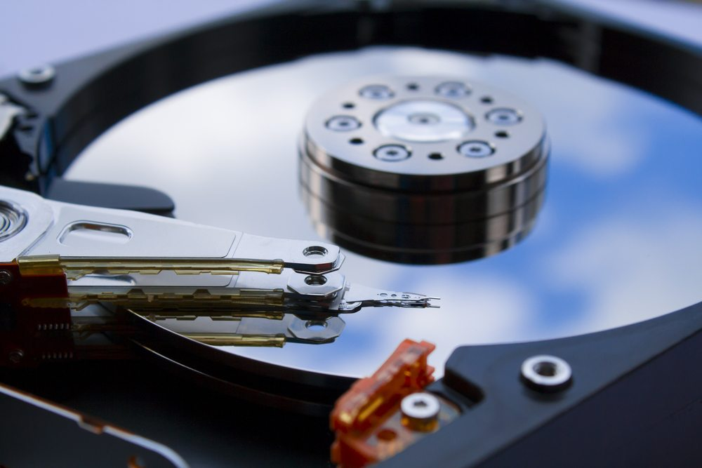 Blick auf die Festplatte nach der Systembereinigung. (Bild: mike mols / Shutterstock.com)