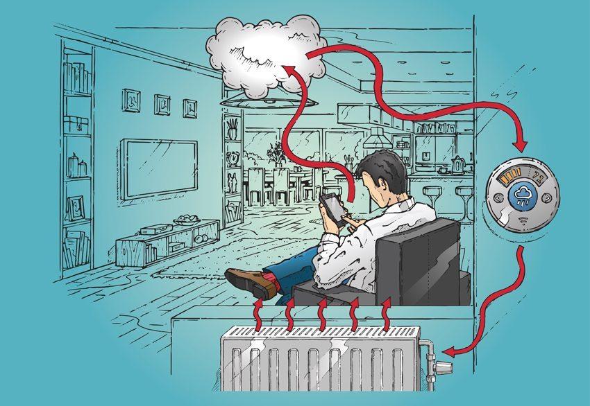 Mit Hausautomatisierungssystemen können Bewohner die komplette Elektronik ihres Hauses steuern. (Bild: Scott Bedford / Shutterstock.com)