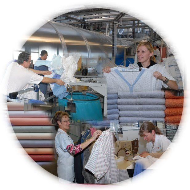 Bei der Wäscherei Bodensee AG sind Sie in den besten Händen.