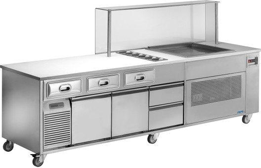 Für höchsten Eisgenuss – Saro Gastro Products macht jetzt Eis-Teppanyaki für Gäste möglich. (Bild: © Saro Gastro-Products)