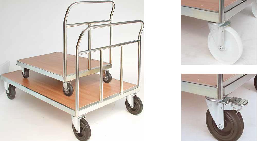 Bequemer Transport mit passenden Magazinwagen (Bild: Primus Transportgeräte AG)