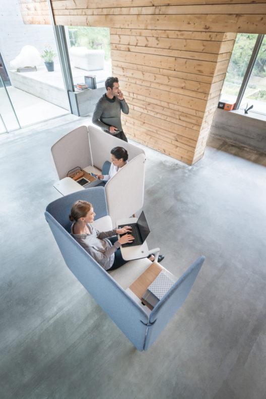 Eine gute Vernetzung ist die Basis für effiziente Büroarbeit.