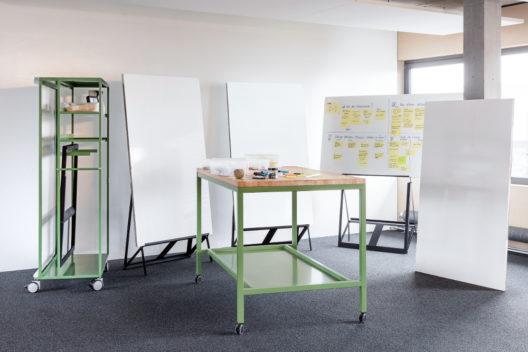 Visualisierungsmöglichkeiten unterstützen die Produktivität in Meetings: (Bild: © Lista Office LO)