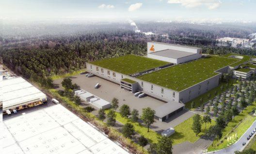 Das grösste Projekt in der Firmengeschichte: Die LogisticCity in Nürnberg.