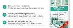 """Gerade in Zeiten von Corona: Wohngesundheit in Büroräumen fördern. benz24.de. Weiterer Text über ots und www.presseportal.de/nr/132323 / Die Verwendung dieses Bildes ist für redaktionelle Zwecke honorarfrei. Veröffentlichung bitte unter Quellenangabe: """"obs/Benz GmbH & Co. KG Baustoffe"""""""